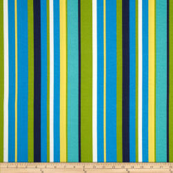 Bryant Indoor/Outdoor Topanga Stripe Lagoon Fabric
