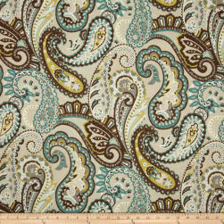Bryant Indoor/Outdoor Tamara Large Paisley Quartz Fabric
