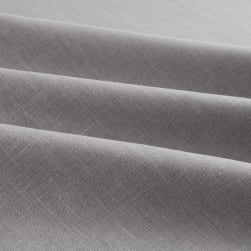 European 100% Linen Cadet Grey Fabric