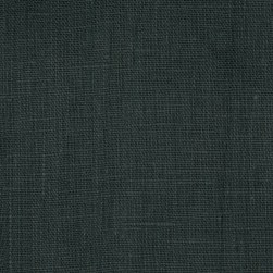 European 100% Linen Charcoal Grey Fabric