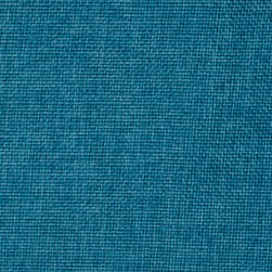 Vintage Poly Burlap Turquoise Fabric