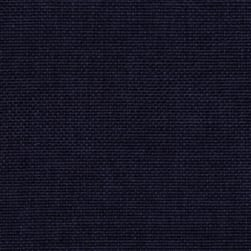 Vintage Poly Burlap Navy Fabric