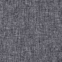 Vintage Poly Burlap Charcoal Fabric