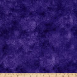 118'' Wide Quilt Backing Leather Texture Purple Fabric