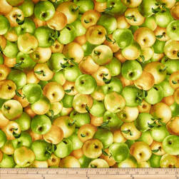 Farmer John Apples Fabric