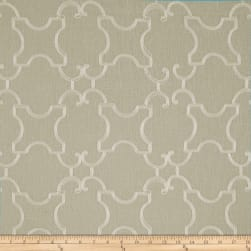 World Wide Faux Linen Sheer Marlee Ivory/Flax Fabric