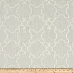 World Wide Faux Linen Sheer Marlee White/White Fabric