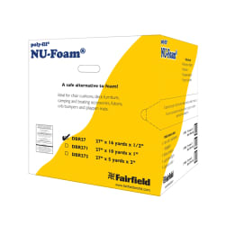 Fairfield Poly-Fil Nu-Foam 27