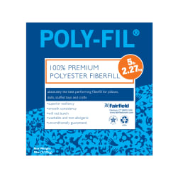 Fairfield 100 % Polyester Poly-Fil 5lb Box