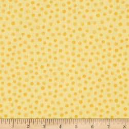 Lewe's Balloons Mono Dots Yellow/Yellow Fabric