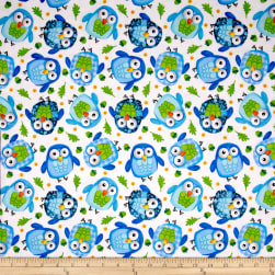 Flannel Owls Multi
