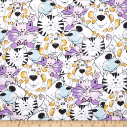 Flannel Dogs & Cats Multi