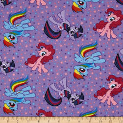 My Little Pony Purple Fabric