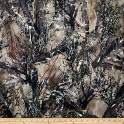 True Timber Outdoors Camouflage True Suede Green Fabric