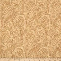 "118"" Wide Lauren Paisley Tan"