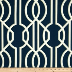 Magnolia Home Fashions Deco Navy Fabric