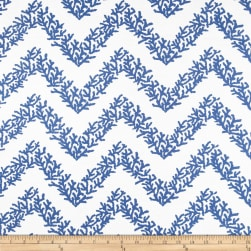 RCA Coral Chevron Sheers Navy