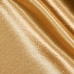 Shantung Sateen Gold Fabric