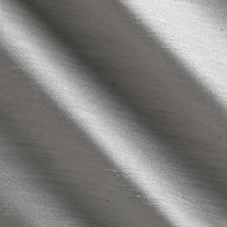 Shantung Sateen Light Grey Fabric