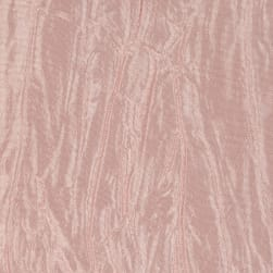 Crushed Taffeta Iridescent Blush Pink Fabric