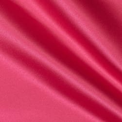 Mi Amor Duchess Satin Hot Pink Fabric