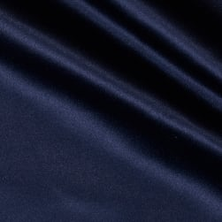 Mi Amor Duchess Satin Navy Fabric