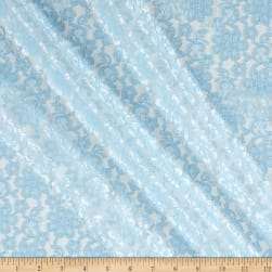 Raschelle Lace Baby Blue Fabric