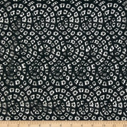 Telio Mara Lace Black Fabric