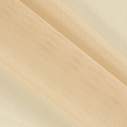 Telio Stretch Nylon Shaper Mesh Beige Fabric