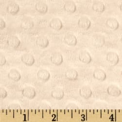 Shannon Minky Cuddle Dimple Beige Fabric
