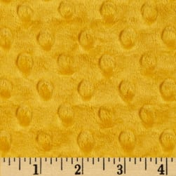 Shannon Minky Cuddle Dimple Gold Fabric
