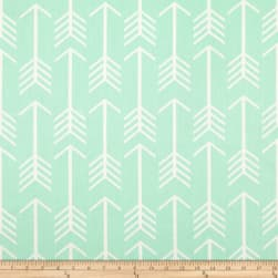 Premier Prints Arrow Mint Twill Fabric
