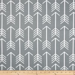 Premier Prints Arrow Cool Grey Fabric