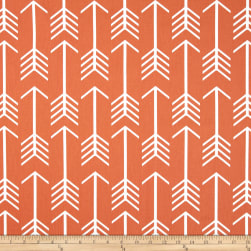 Premier Prints Arrow Macon Apache Orange Fabric