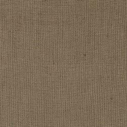 Stonewashed Linen Linen Brown Fabric