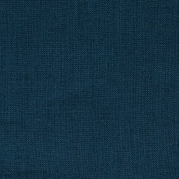 Stonewashed Linen Navy Blue Fabric