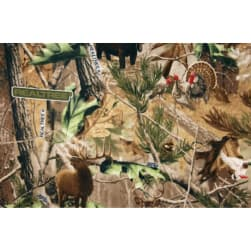 Realtree Wildlife Fleece Camo Allover Print