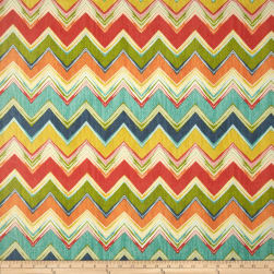 Swavelle/Mill Creek Indoor/Outdoor Culloden Chevron Fiesta Fabric