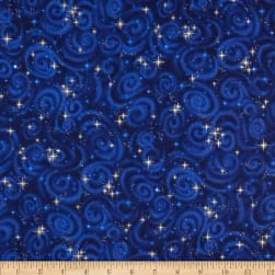 Stargazers Starry Night Midnight Fabric