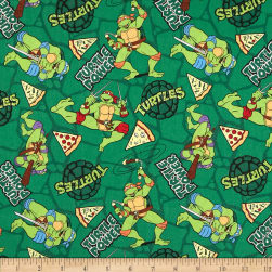 Teenage Mutant Ninja Turtles Retro Turtle Power Pizza