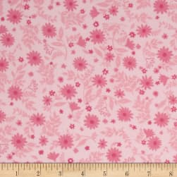Cozy Cotton Flannel Flowers Blossom Fabric