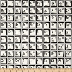 Science Fair Periodic Table Grey