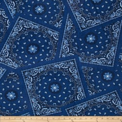 Winterfleece Bandana Navy Fabric