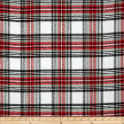 Kaufman Mammoth Flannel Plaid Country Fabric