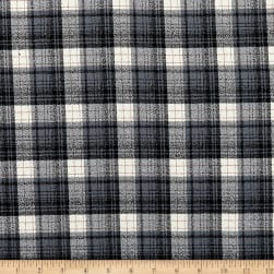 Kaufman Mammoth Flannel Plaid Smoke