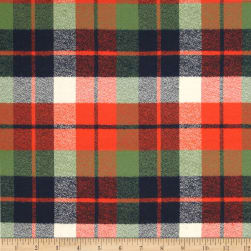 Kaufman Mammoth Flannel Plaid Adventure Fabric