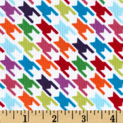 Kaufman Cool Cords Houndstooth Multi