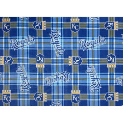 MLB Fleece Kansas City Royals Fabric