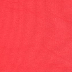 Techno Scuba Knit Solid Coral