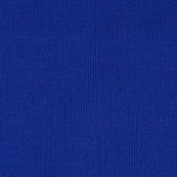 Fabric Merchants Techno Scuba Knit Solid Royal Fabric